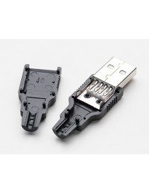 USB DIY Connector Shell -...