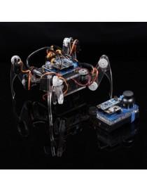 Crawling Quadruped Robot...