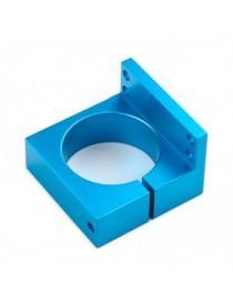CNC Motor Bracket - Blue