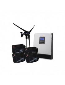Kit Eolico 1000W 48V Pro Casa Baita Stand-Alone Isola