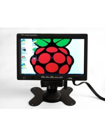 "NTSC/PAL - TFT Display - 7"""