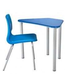 Sedia blu/arancio Atelier