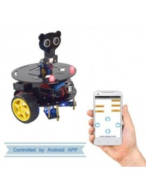 3WD Bluetooth Smart Robot Car Kit for Arduino UNO R3
