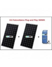 Kit fotovoltaico 520Wh Plug...